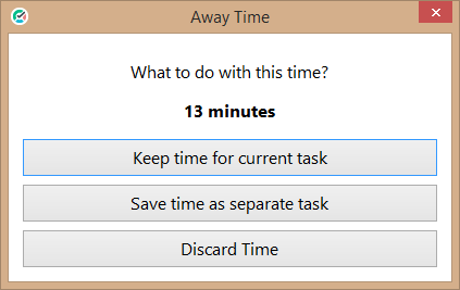 Idle timer