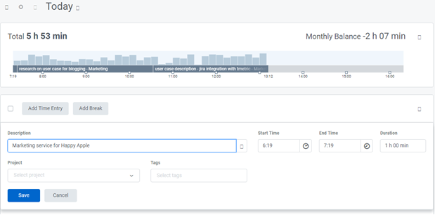 Agency time tracking 1