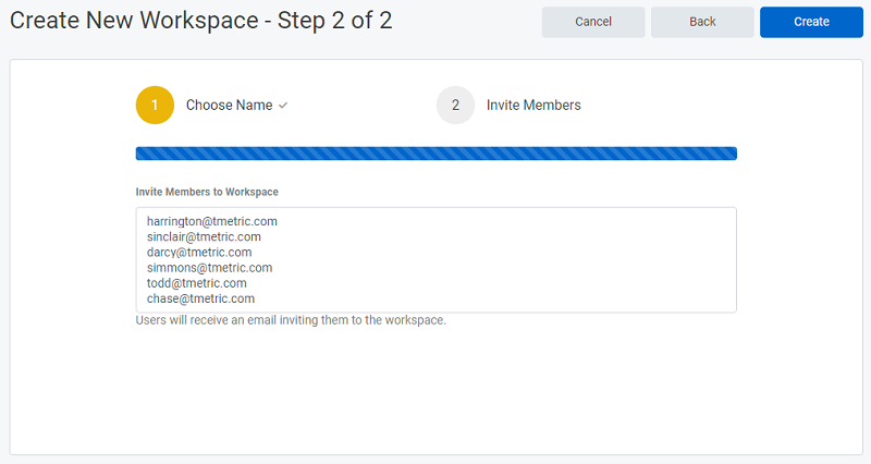 Invite Members to Workspace