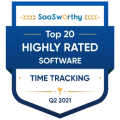 Highly Rated Time Tracking Software